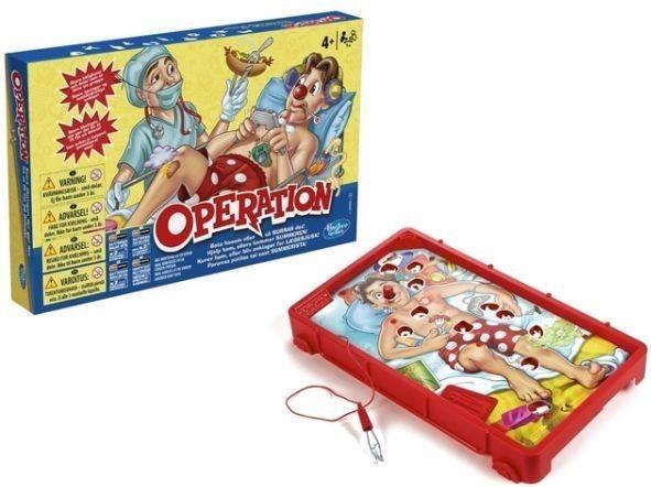 Operando Clasico Juego De Mesa Electronico Hasbro Familiar