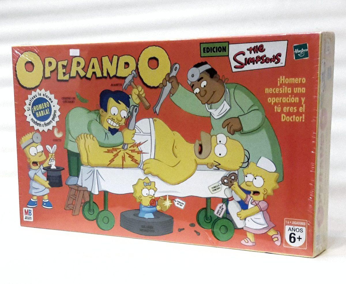 Operando Edicion Los Simpsons Juego De Mesa De Hasbro