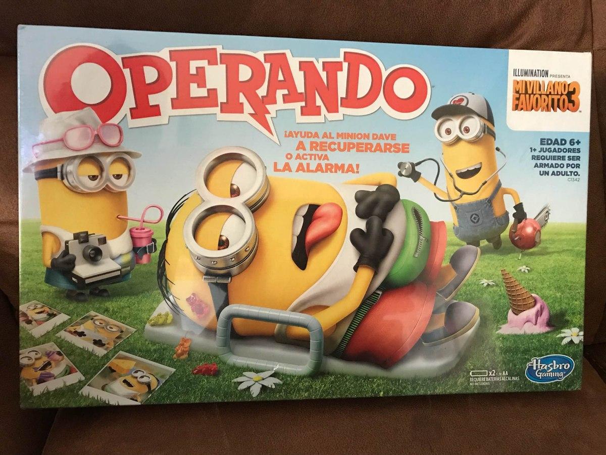 Hasbro Gaming Juego De Mesa Operando Minions C1342 Regalos De Vacaciones