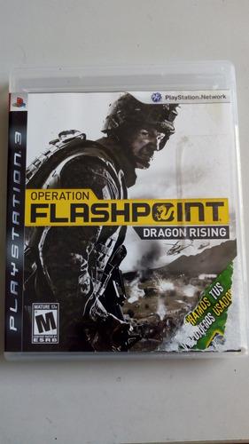 operation flashpoint dragonresing para ps3