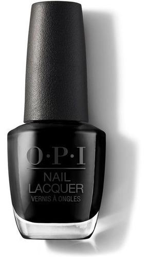 opi esmalte black onix - nl102