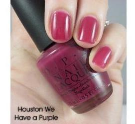 o.p.i  esmalte  importado  houston we have a purple