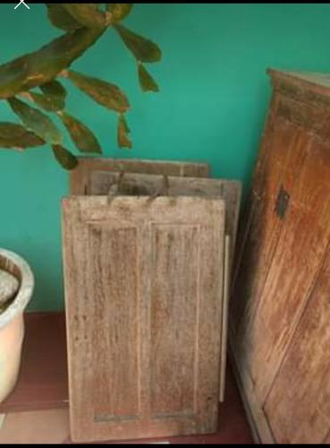 oportunidad! antigua heladera de madera, para restaurar