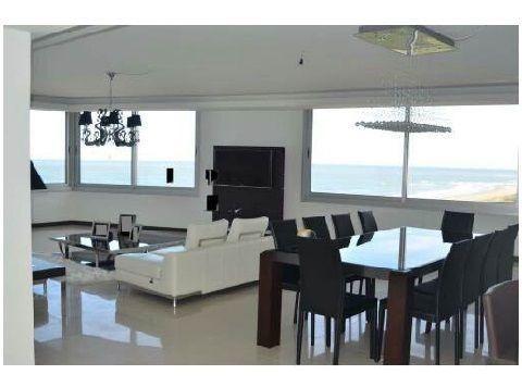 oportunidad apartamento en venta , primera fila playa brava!