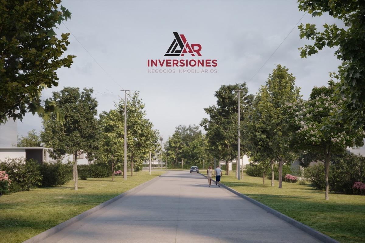 oportunidad. barrio abierto en pueblo esther. terreno financiado en pesos. todos los servicios.