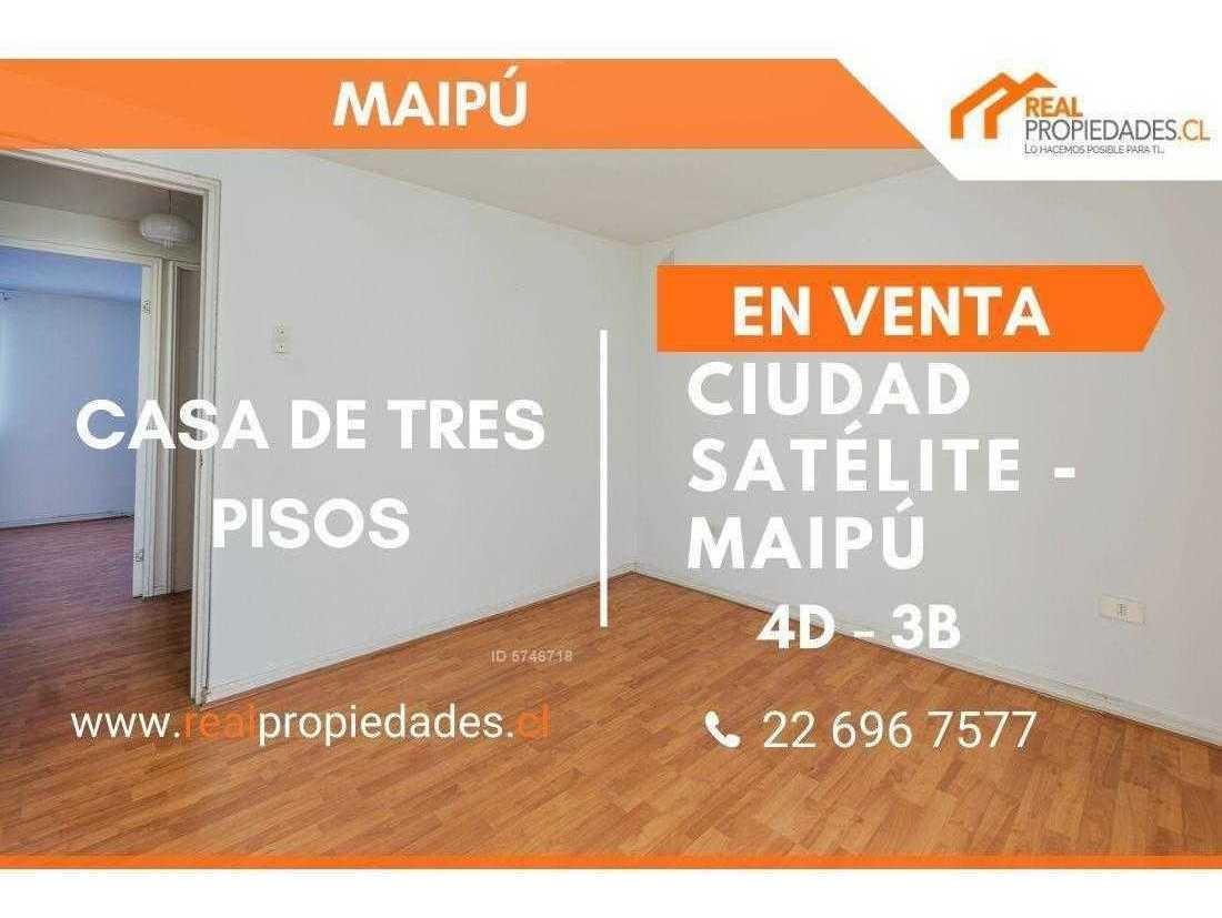 oportunidad casa ciudad satélite maipú