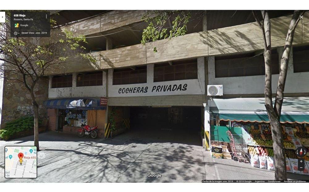 oportunidad - cochera centro rioja 600 -