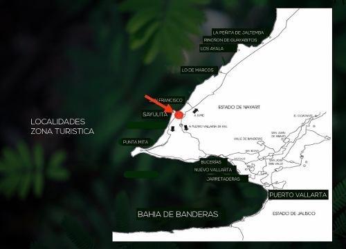 oportunidad de inversión 130 ha sayulita / bahía de banderas, nayarit