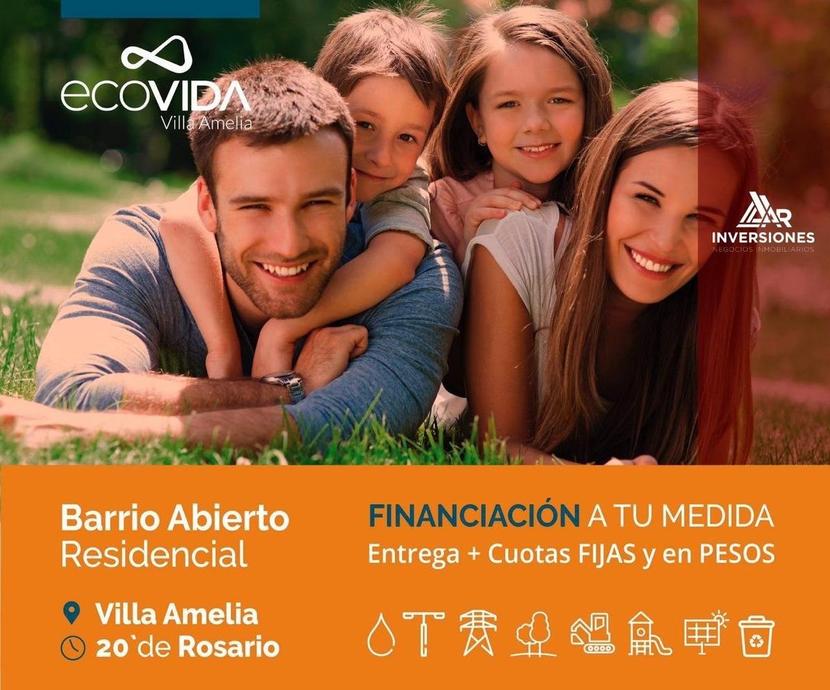 oportunidad de inversion - lotes financiados corredor sur de rosario - financiacion -ecovida un proyecto diferente - inverti en tu familia