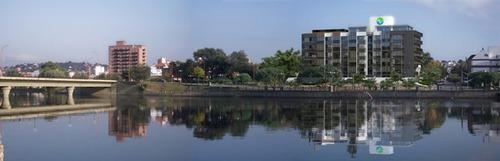 oportunidad de negocio - edificio con vista directa al lago