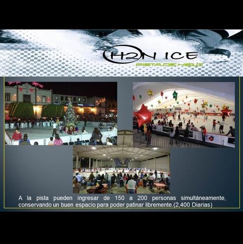 oportunidad de negocio¿¿ pista de hielo ¿¿
