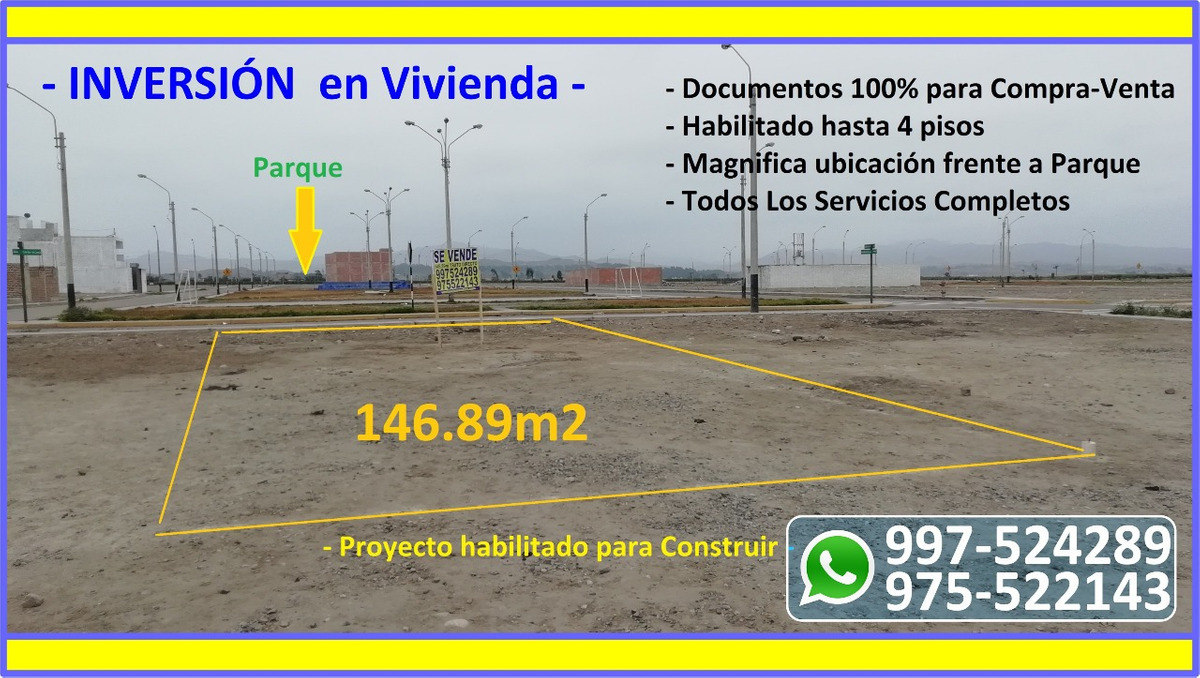 oportunidad de terreno - barranca - us$ 17,000.00