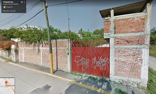 oportunidad de terreno en esquina  en yautepec