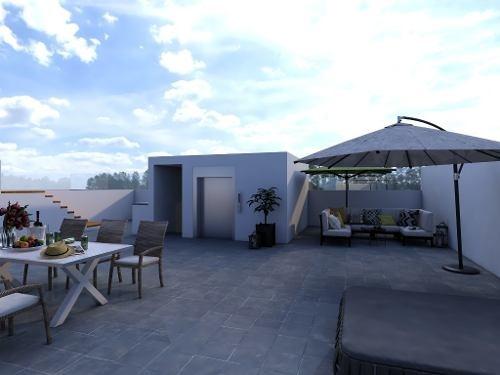 oportunidad departamento en condominio nuevo con alberca cerca del parque bellavista, playa del carm