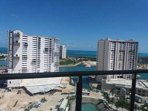 oportunidad departamento  vista al mar puerto cancun maioris