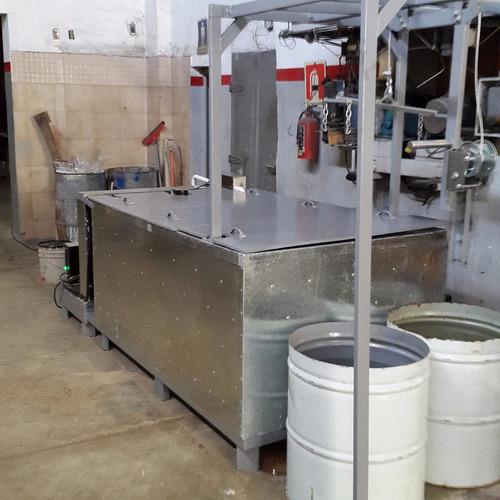 oportunidad fabrica hielo 16 barras 25 kilos c/u 400 x dia