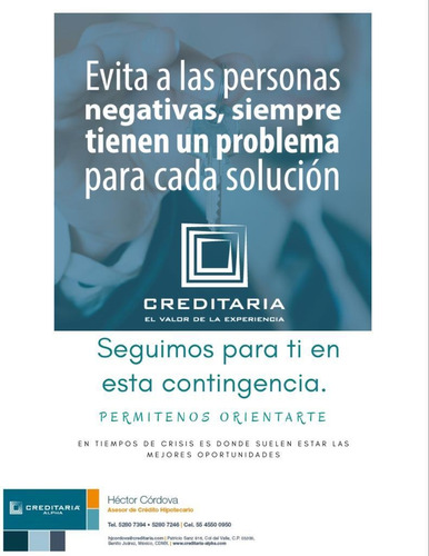 oportunidad financiera