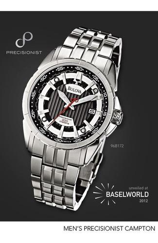 oportunidad fino reloj hombre bulova precisionist 96b172