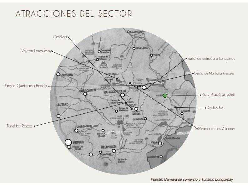 oportunidad inversion / parcelas en lonquimay / rio biobio