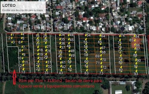 oportunidad inversion- terreno p/loteo