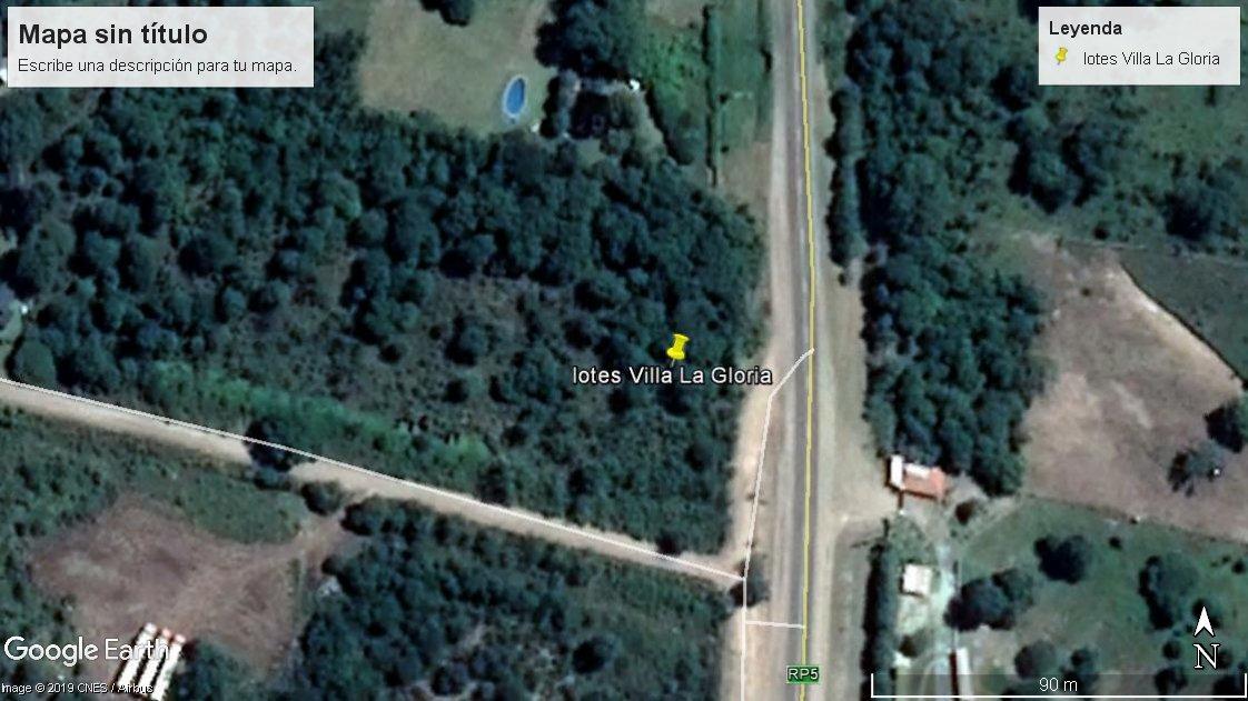 oportunidad inversores!!! fracción de 6400 m2 en villa general belgrano sobre ruta 5