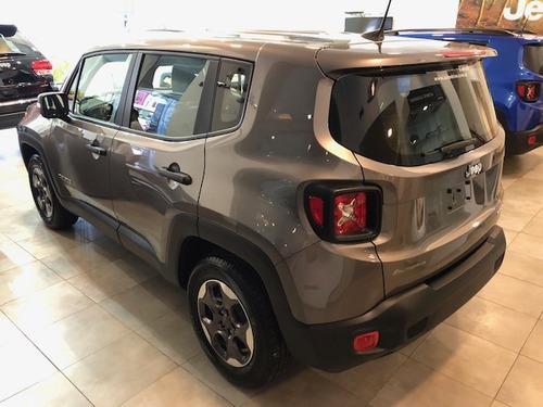oportunidad jeep renegade sport plus automática en cuotas