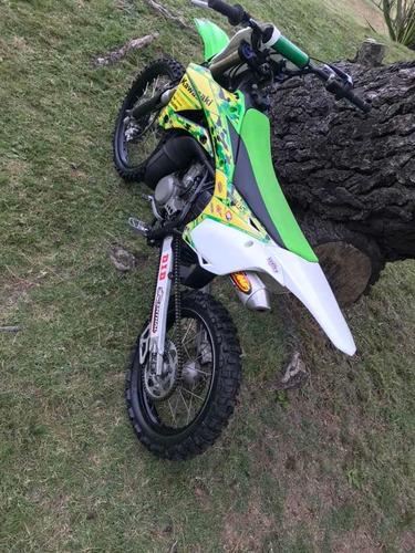 oportunidad!! kawasaki kx 100cc excelente pocas horas...