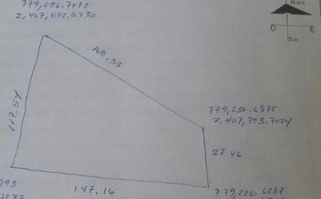 oportunidad m2 en $132.00 en montoro 10,500 m2 de terreno.