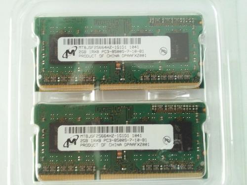 oportunidad - memoria ram macbook pro (2x2gb=4b)