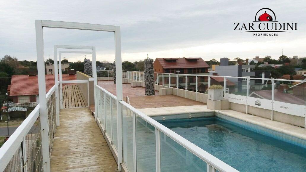 oportunidad!! moderno dpto. vista al mar - terraza vista panorámica - 2 amb - coch. cub. -