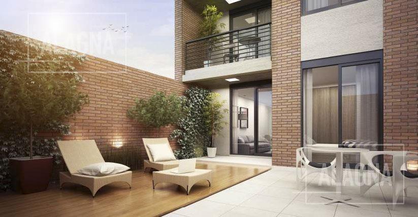 oportunidad monoambiente con patio en zona centro