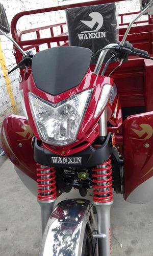 oportunidad moto furgón marca wanxin año 2018 cero km. surco