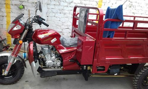 oportunidad  moto furgón marca  waxin 200 año 2018