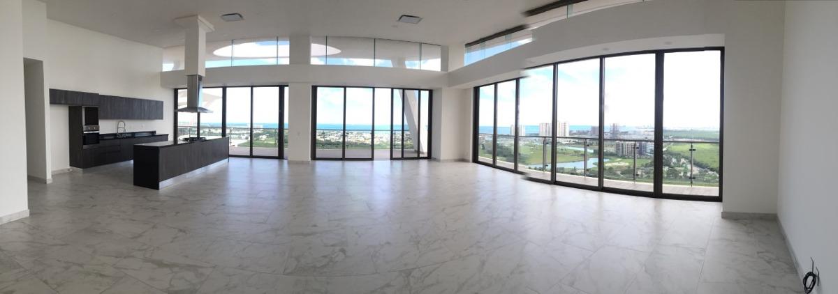 oportunidad puerto cancun increible penthouse| vista al mar