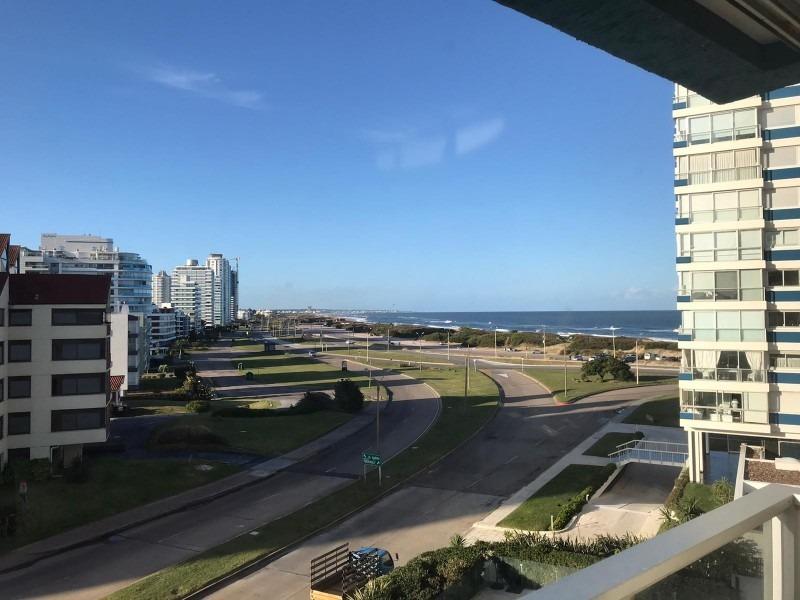 oportunidad punta del este - edif. ocean tower esquinero rebajado- ref: 30123