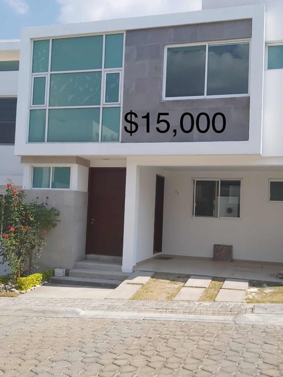 oportunidad!!! renta casa lomas de angelópolis 2 puebla