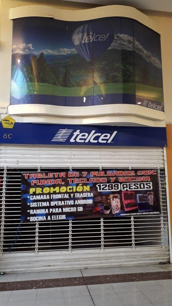 oportunidad- renta de local en plaza bella- pachuca-hgo.