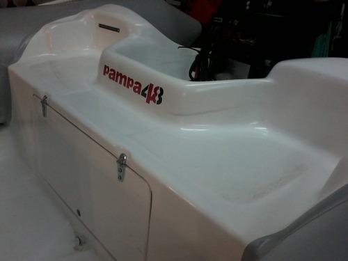 oportunidad  semi  4,9 mts  con mercury  40 hp 2t 3cilindros
