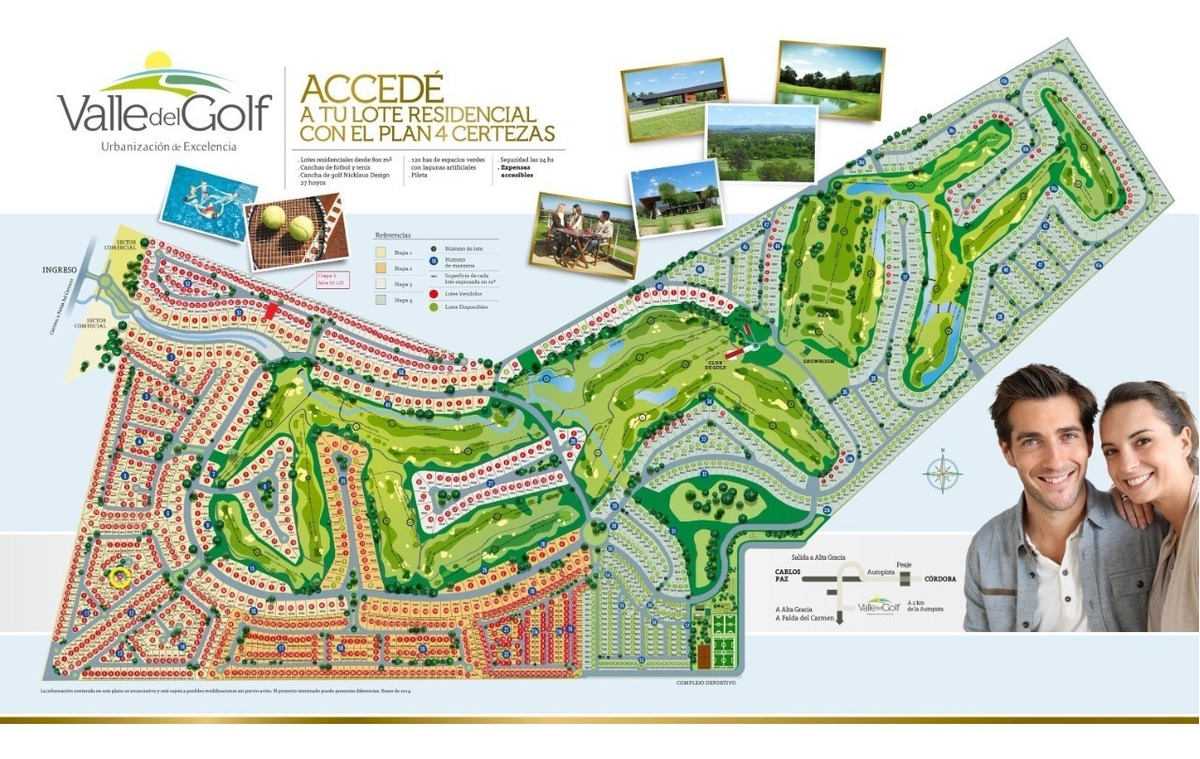 oportunidad !!! terreno en venta - valle del golf
