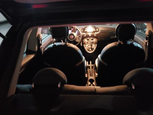 oportunidad única fiat 500 lounge automático 2 puertas 2019