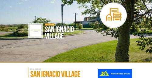 oportunidad vendo lote en san ignacio village manantiales
