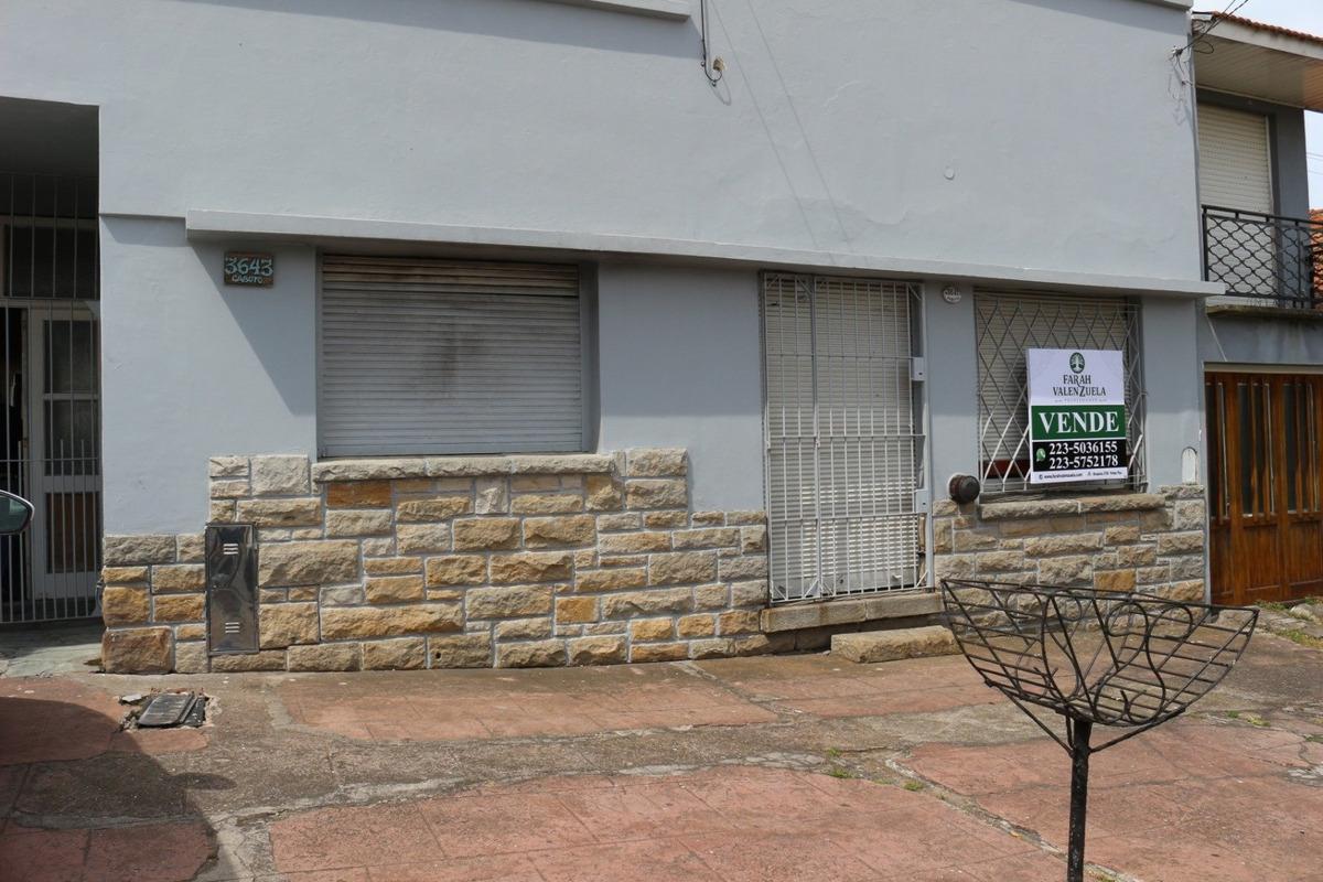 oportunidad venta casa con local y deposito. a reciclar. zona puerto.