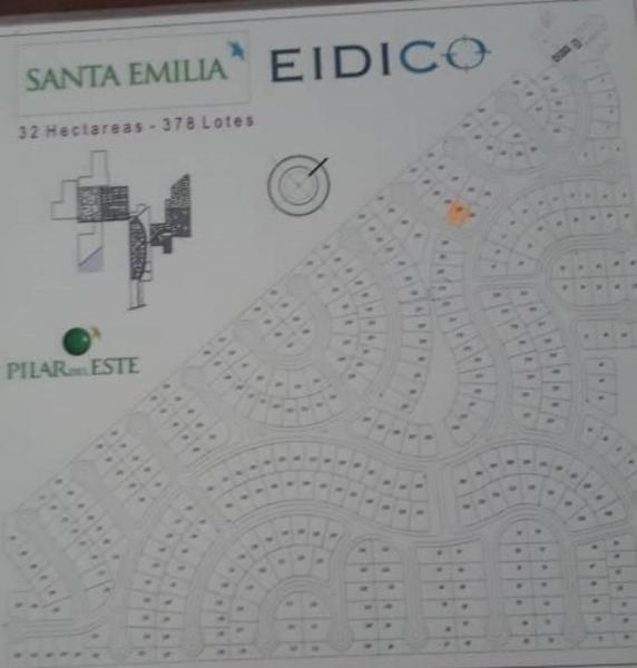 ¡oportunidad! venta de terreno en barrio privado santa emilia pilar del este