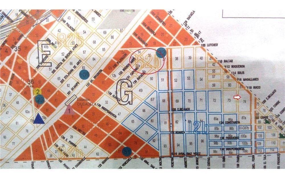 oportunidad venta terreno en ciudadela sur 413 m2