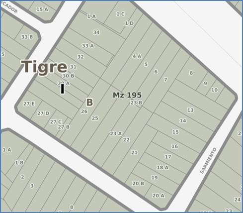 oportunidad venta terreno triple frente - ciudad de tigre