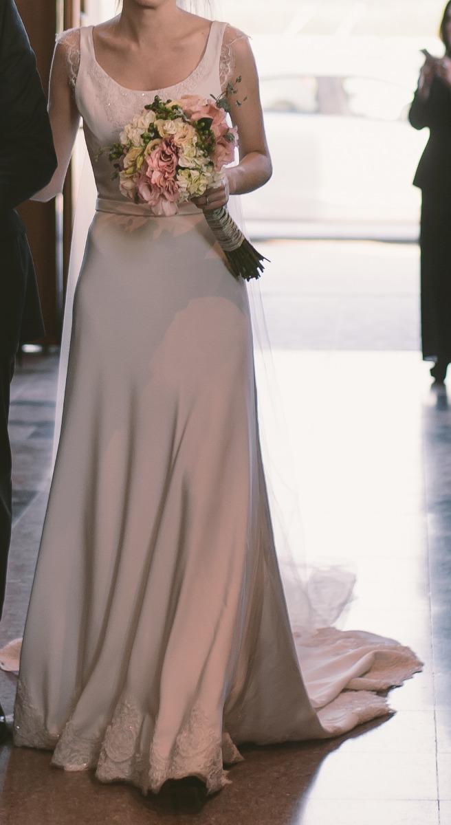 Vestidos de novia en crepe de seda