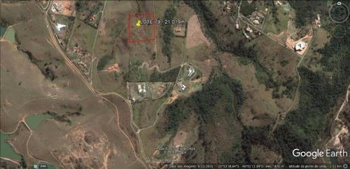 oportunidade: 20.019m² - condomínio rural - joaquim egídio - ch0064