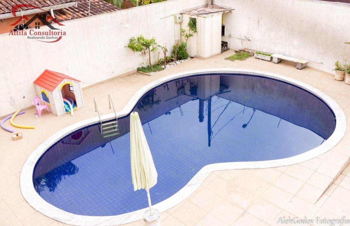 oportunidade 7 dorms., 5 suítes, piscina, estuda permuta - v612