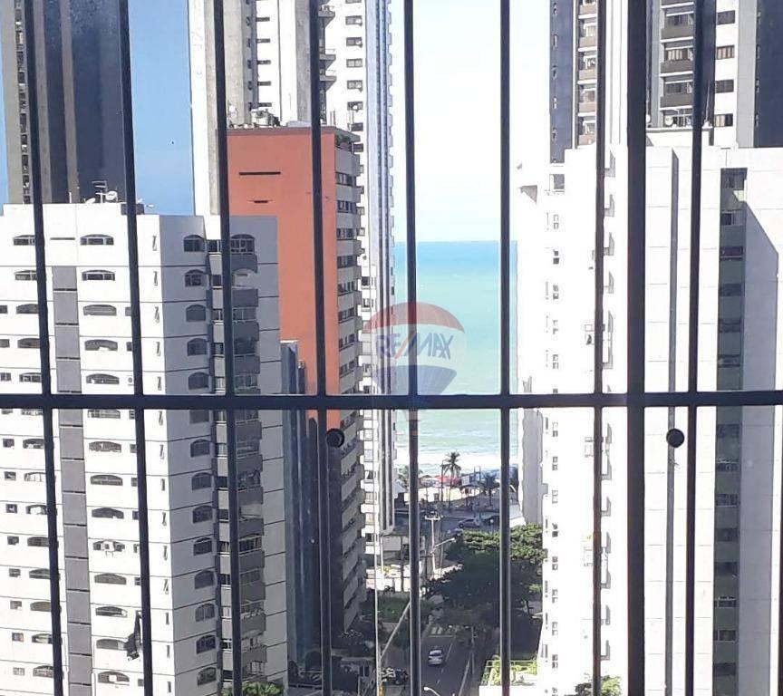 oportunidade apartamento 04 quartos - preço ótimo - área privativa: 229,67 m²  01 sala p/ 3 ambientes - 1 suíte com, vaga privativa e próxima ao mar - ap1042