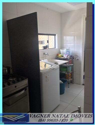 oportunidade apartamento 123m² 3 suítes em candelária natal
